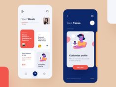 Ledge Learning app design - Self help apps and services' design needs to be warming and responsive in order to make learning - Pop Design, Design Lab, Graphic Design, Flat Design, Ui Design Mobile, App Ui Design, Interface Design, User Interface, Dashboard Design