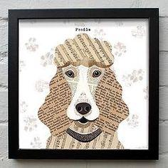 Poodle Print