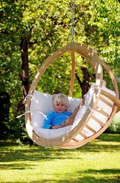 Tuindesign: Hangstoel voor in de tuin