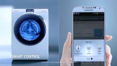 Samsung stellt Waschmaschine Blue Crystal WW9000 vor (Bild: © Samsung)