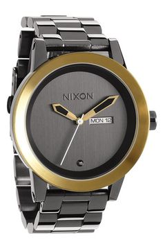 Nixon 'The Spur' Bracelet Watch available at #Nordstrom