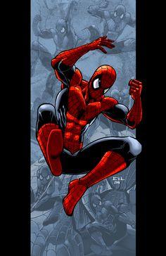 Spider Drop by ErikVonLehmann.deviantart.com on @deviantART