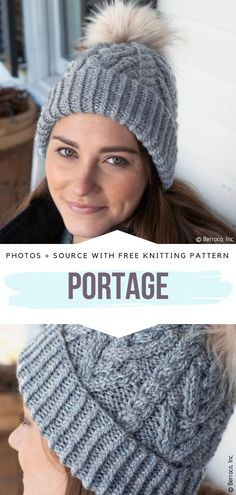 Shades of Gray Beanies Free Knitting Patterns - Free Crochet Patterns Beanie Knitting Patterns Free, Beanie Pattern Free, Free Knitting, Crochet Patterns, Knitted Hats, Crochet Hats, Free Crochet, Knit Crochet, Knitted Slippers