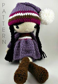 Irene Amigurumi Doll Crochet Pattern PDF von CarmenRent auf Etsy