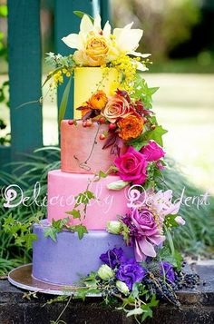 Colors Cake