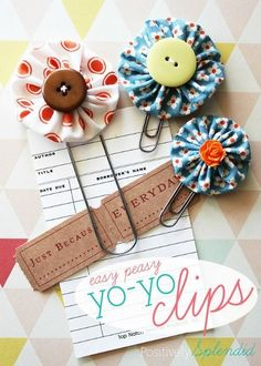 Homemade Paper Clips make a great DIY Mothers Day Gift. More DIY Mother's Day Ideas on Frugal Coupon LIving.