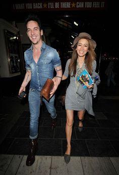 Jonathan Rhys Meyers #jonathanrhysmeyers #jrm Jonathan-Rhys-Meyers-and-fiancee-Mara-Lana