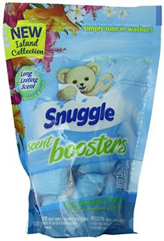 Snuggle Laundry Scent Boosters, Island Dreams, 20 Count Snuggle http://www.amazon.com/dp/B00QYZ688S/ref=cm_sw_r_pi_dp_a.ytvb1X9WZPC