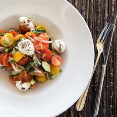 You will love our refreshing taste on Mediterranean summer. Add some zest to your escape! Discover My Mykonos Hotel! Mykonos Hotels, Summer Is Here, Greek Islands, Caprese Salad, Summertime, Restaurant, Dining, Summer Vibes, Spice
