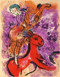 Prints by Marc Chagall Circus | Marc Chagall, 1887-1985
