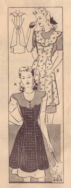 Mail Order pattern 1940's