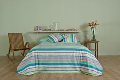 Spring, Bed, Furniture, Home Decor, Duvet Covers, Decoration Home, Stream Bed, Room Decor, Home Furnishings