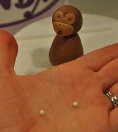How to Make a Fondant Monkey