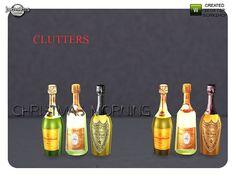 jomsims' christmas morning champagne bottles
