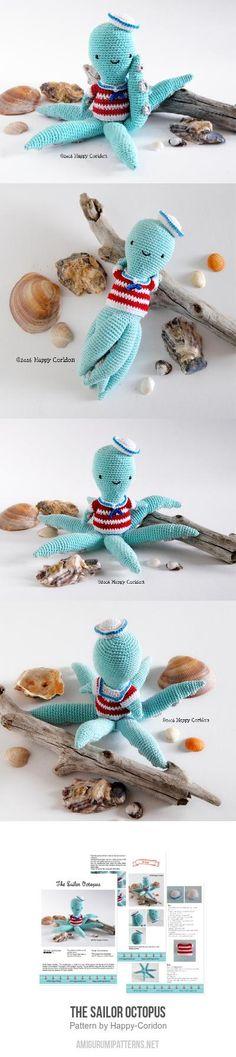 The sailor octopus amigurumi pattern