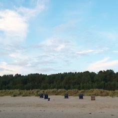 Strandkörbe schützen vorm kühlen Wind im #Herbst