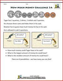 Here is our selection of printable money worksheets for graders. These sheets involve solving money challenges and money problems at a grade level. 3rd Grade Math Worksheets, Money Worksheets, Printable Math Worksheets, 2nd Grade Math, Free Printables, Grade 3, Teaching Math, Teaching Ideas, Money Problems