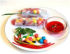 kids sushi party idea
