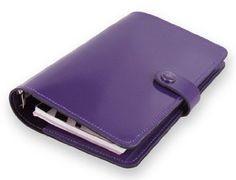 The Original Personal Organizer - Purple Filofax