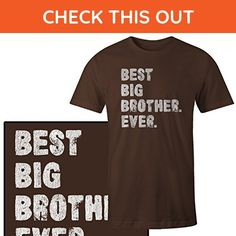 Best Big Brother Ever T-Shirt - Relatives and family shirts (*Amazon Partner-Link)