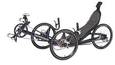 Used Trivortech 750s Recumbent Touring Bike Trike Exercise Tricycle | eBay