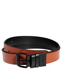 Ben Sherman Black and Brown Reversible Belt