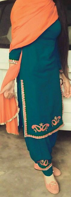deol Want to know about quality Elegant Salwar suit and Salwaar Suits in which case CLICK VISIT link above for more info Punjabi Suit Simple, Salwar Suits Simple, Punjabi Salwar Suits, Patiala, Salwar Kameez, Embroidery Suits Punjabi, Embroidery Suits Design, Embroidery Designs, Punjabi Suits Designer Boutique