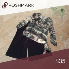 """🍂2 pc Fall Outfit Perfect for THANKSGIVING DAY🍁 Chico's Size 3 = 16  Bust: 50"""" Length: 26"""" Condition: Excellent   Velvety Velour from Ideology Size 1x Waist: Appox. 40"""" Inseam: 20.5"""" Leg Opening: 20.5"""" Condition: Excellent like new Chico's Tops"""