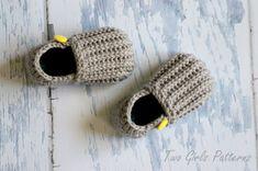 Toddler Crochet Pattern for Jake Loafers  por TwoGirlsPatterns, $5.50