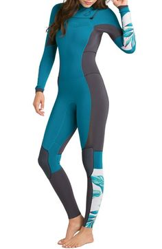 Billabong 'Salty Dayz 4/3' Full Body Wetsuit available at #Nordstrom