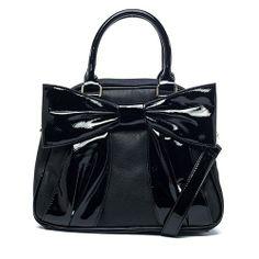 Betsey Johnson Black Bownanza - brand new - $45 + shipping