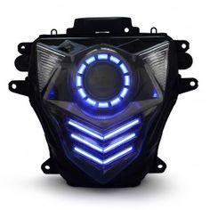 Suzuki GSX-R750 HID LED Projector Led Headlight Assembly 2011-2015 V2