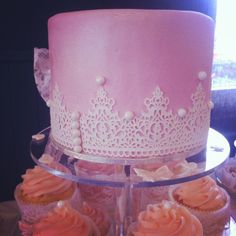 """""""Lace & Pearl"""" themed Birthday."""