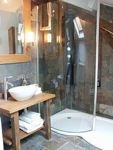 Alt idea for bathroom  En-suite shower