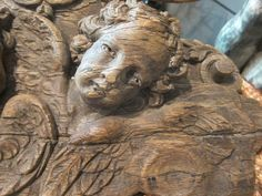 Wood carved