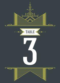 Brooklyn Boho Table Numbers - Hoopla House