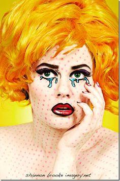 makeup pop art (8)