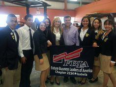 Inauguración Escuela Vocacional Dr. Heriberto Domenech, Isabela  FBLA 2234