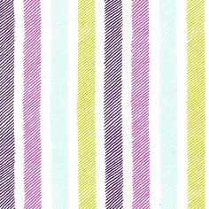 Sketchy Stripe in the Violet colourway from Emma's Garden by Patty Sloniger for Michael Miller. Sketched stripes in purple green and blue. Available at Fabric Yard. Quilting Projects, Craft Projects, V Collection, Michael Miller Fabric, Quilt Binding, Fabric Names, Gorgeous Fabrics, Striped Fabrics