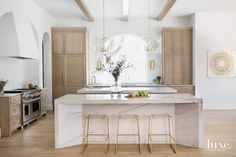 In Austin, A Home With Staying Power Rises Among Lush Oaks | Luxe Interiors + Design