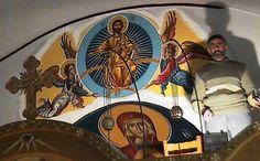 643944_4317317744324_2057024472_n Byzantine Icons, Painting, Art, Art Background, Painting Art, Kunst, Paintings, Gcse Art