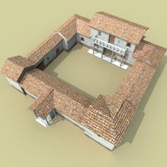 roman villa 3d fbx - Roman villa... by Frame3d