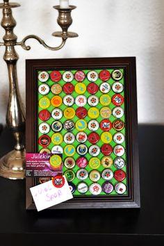 Julekind: Tutorial: Magnetwand aus Kronkorken mit passenden Magneten