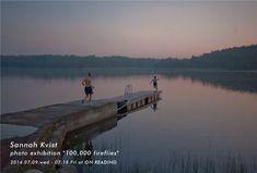 """Sannah Kvist photo exhibition """"100,000 fireflies"""""""