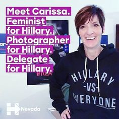 @hillaryfornv delegate, Carissa, is fired up for @phldnc2016 in our Vs Everyone sweatshirt!  #TeamHillary ➡️➡️http://www.HouseofHillary.com ▬▬▬▬▬▬▬▬▬▬▬▬▬▬▬▬▬▬▬▬▬▬▬▬ #hillary #hillaryclinton #houseofhrc #madeindc #hillary2016 #hillaryforamerica #hillaryforpresident #womenforhillary #acreativedc #huffpostgram #BYThings #dncc #ImWithHer #houseofhillary #huffpostgram #dealmein #republican #democraticnationalconvention #democrats #philadelphiaconventioncenter #obama #hillyes #womensfash...