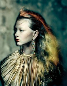 Sara Grace Wallerstedt in 'Magical Thinking' Vogue UK August 2019 by Paolo Roversi Paolo Roversi, Vogue Uk, Vogue Russia, Vogue Korea, Lifestyle Photography, Fashion Photography, Glamour Photography, Editorial Photography, Color Photography