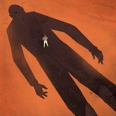 Leader's Edge Cover: Standing up for the Little Guy on Behance