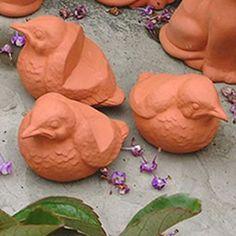 Weston Mill Pottery Terracotta Bird Pot Feet (set of Lion Paw, Tudor Rose, Garden Shop, Large Pots, Terracotta Pots, Houseplants, Container Gardening, Planter Pots, Pottery