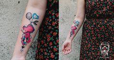 #tattoofriday - Bumpkin Tattoo, Eslováquia. #tattoo #tatuagem #freehand #colours