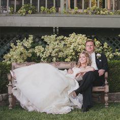 A Romantic Garden Wedding at a Private Residence in Malibu, California